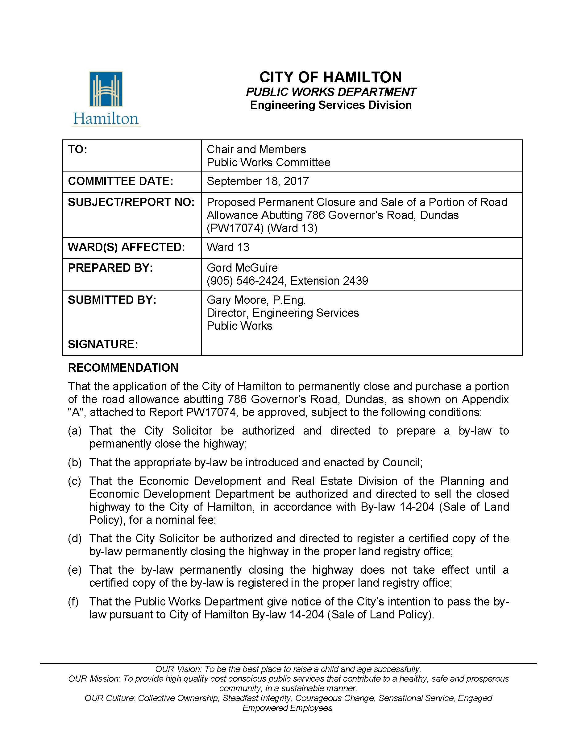 Proposed Permanent Closure and Sale of a Portion o - PW17074_Page_1